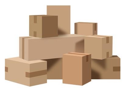 bo tes et caisses carton standard emballages diffusion. Black Bedroom Furniture Sets. Home Design Ideas
